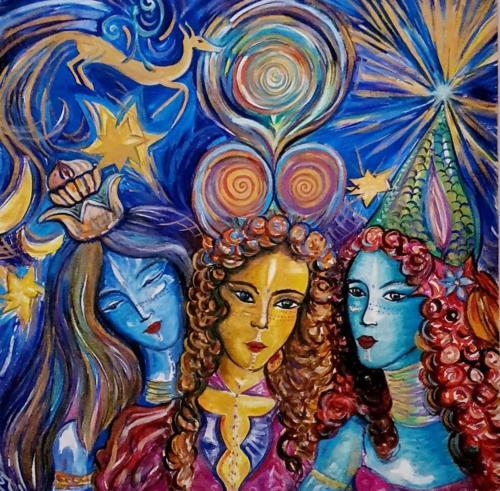 Le tre Dee (Femminilità del Divino)